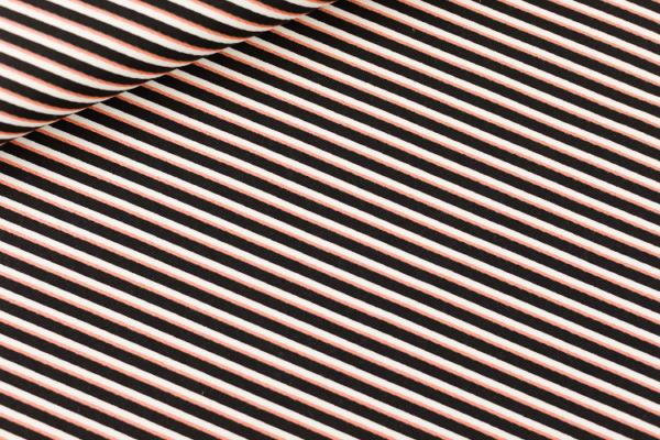gabardine Diagonals - noir&blanc&cuivre