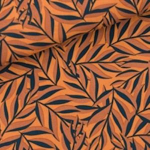 tissu viscose Leaves