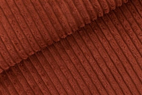 tissu velours côtes larges brun sable