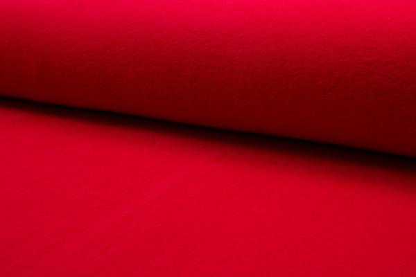 tissu polaire rouge