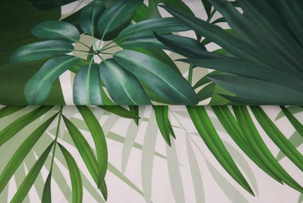 panneau jersey feuilles tropicales 2