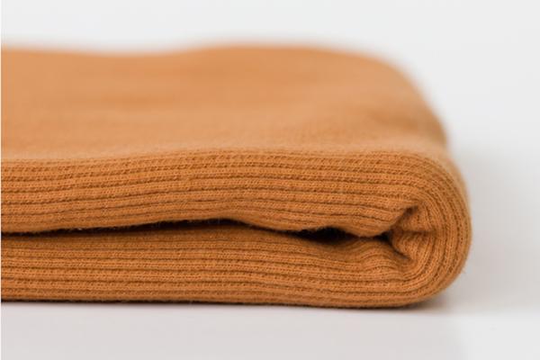 tissu bord côte brun cathay oeko tex See You at Six