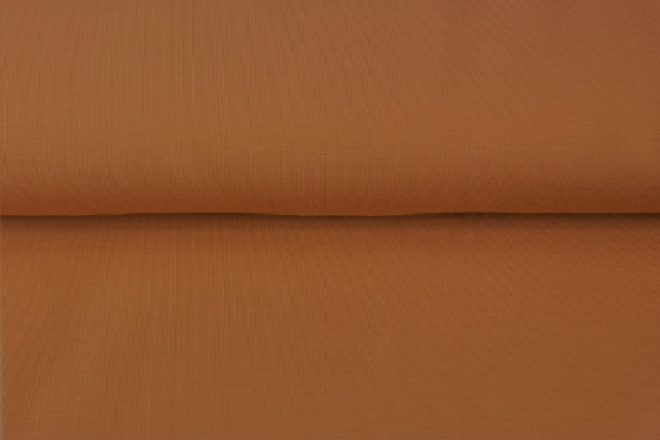 tissu bord côte caramel oeko tex