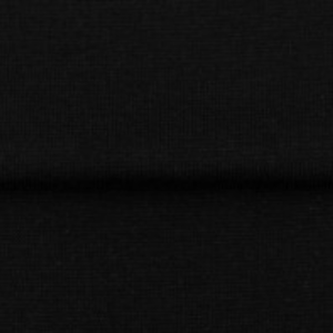 tissu bord côte noir oeko tex