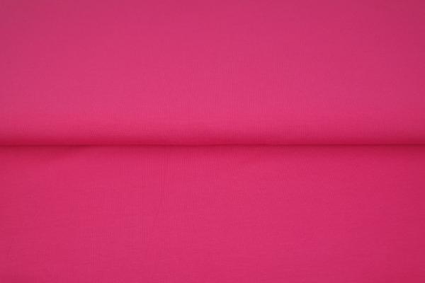 tissu bord côte rose framboise oeko tex