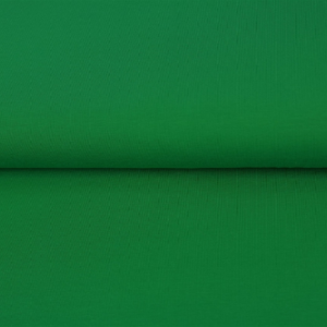 tissu bord côte vert sapin oeko tex