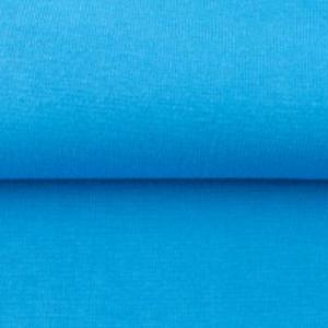 tissu bord côte bleu ciel oeko tex