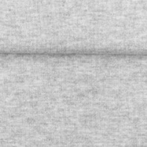 tissu bord côte gris chiné oeko tex