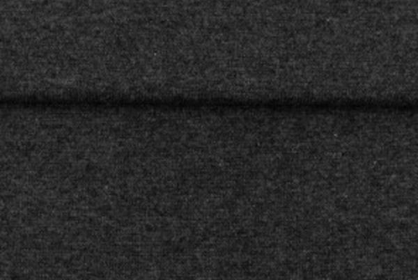 tissu bord côte gris foncé chiné