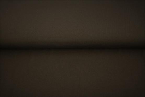 tissu bord côte marron foncé oeko tex