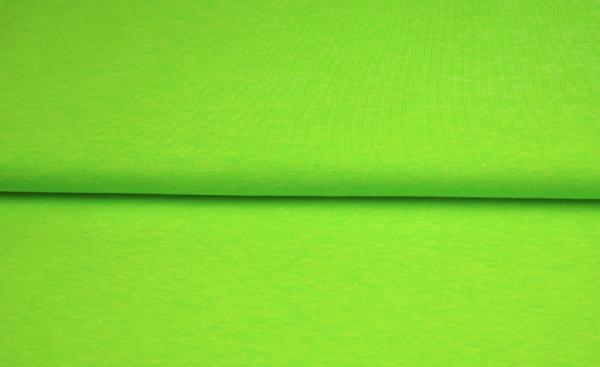 tissu bord côte vert amande oeko tex