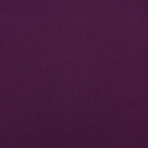tissu bord côte prune oeko tex