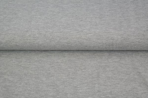 tissu jersey gris chiné oeko tex