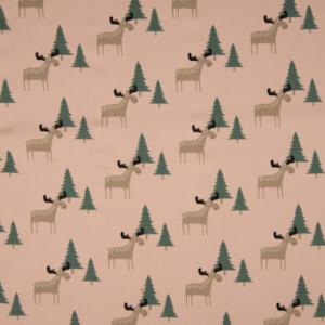 tissu coton cerfs oekotex Quality Textiles