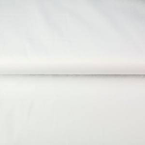 tissu coton uni blanc oekotex Stenzo