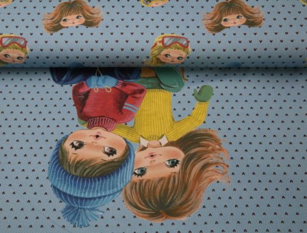 """panneau tissu enfants """"Martine"""" Oeko tex Stenzo"""