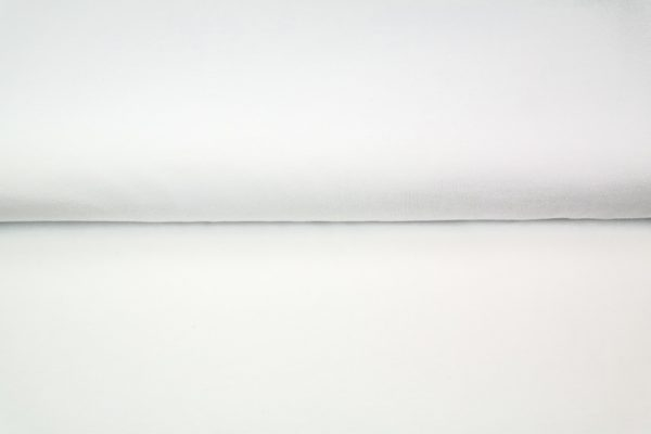 tissu bambou uni blanc oeko tex
