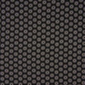"""tissu coton """"soleil noir"""" oeko tex"""