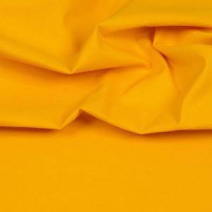 tissu coton uni jaune tournesol oeko tex