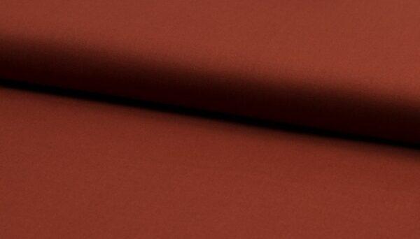 tissu coton uni Terracotta oeko tex