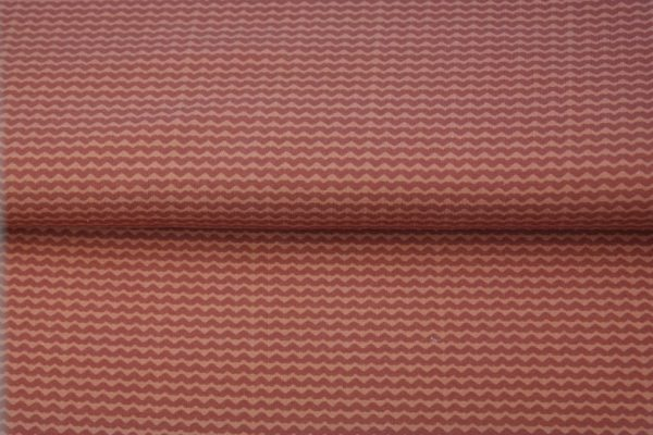 tissu jersey vagues rousses oeko tex