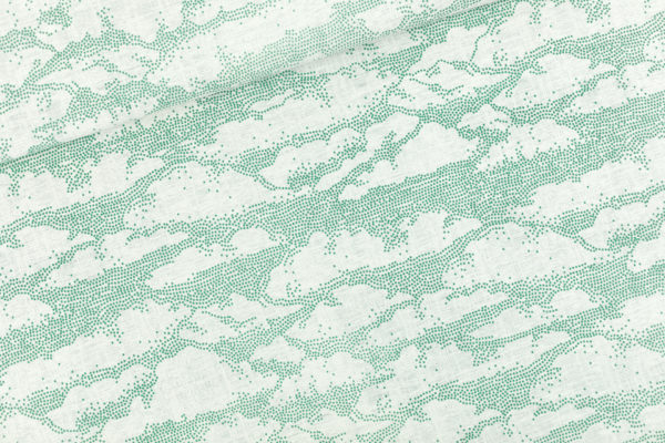 French Terry nuages blanc cassé See You At Six oekotex