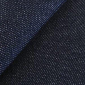 tissu jeans bleu brut BIO