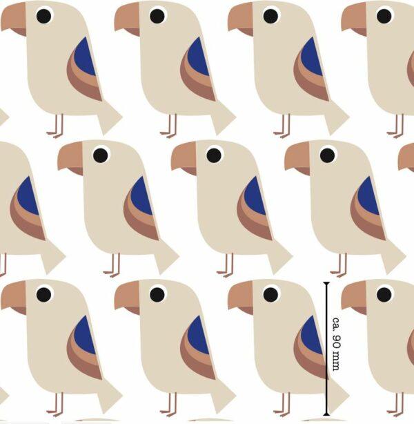 jersey perroquets bleus BIO