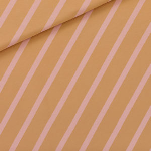 french terry Diagonals XL - brun fenugrec