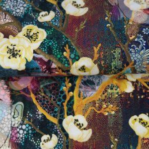 tissu jersey digital femmes chinoises OEKO TEX
