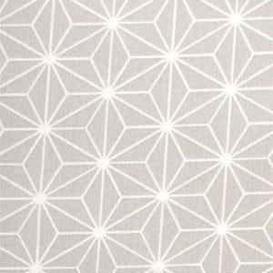 tissu coton étoiles origami grises OEKO TEX