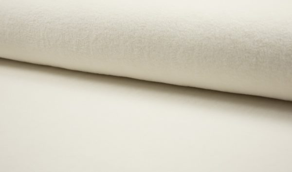 tissu polaire écru oeko tex