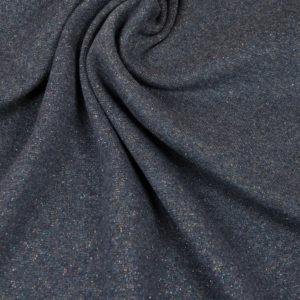 tissu sweat lurex anthracite OEKO TEX